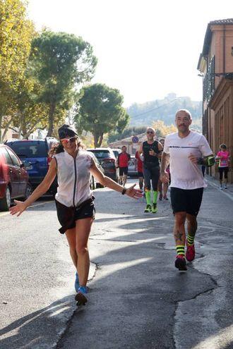 Il percorso del Giro dei Gessi a Cesena (foto Ravaglia)
