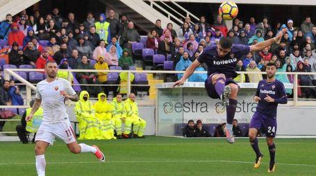 Fiorentina-Roma (foto Germogli)