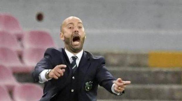 Cristian Bucchi, allenatore del Sassuolo (foto Ansa)