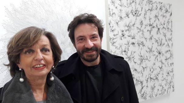 Vittoria Coen con Andrea Bianconi