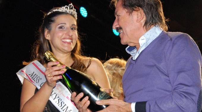 La vincitrice di Miss Curvyssima Gabriella Cameli (foto Valerio Costantini)
