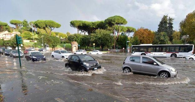 Piazzale Numa Pompilio a Roma (Ansa)