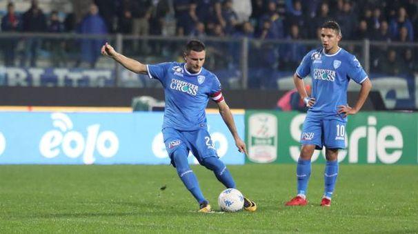 Manuel Pasqual segna il gol dell'1-1 (foto Tommaso Gasperini/Germogli)