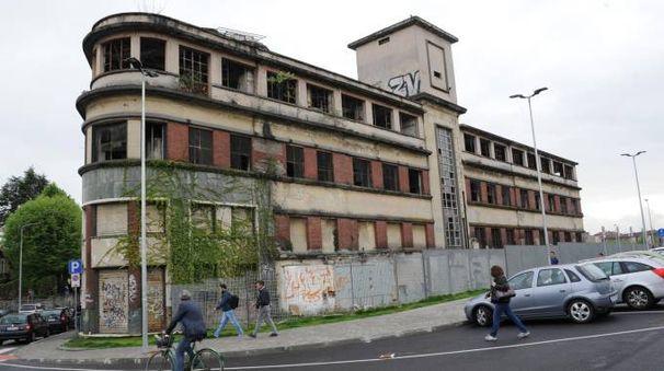 L'edificio della ex Galbani