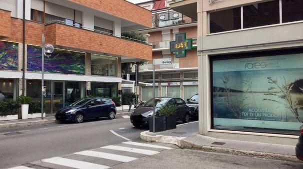 Via Gorizia, dove è avvenuta l'aggressione