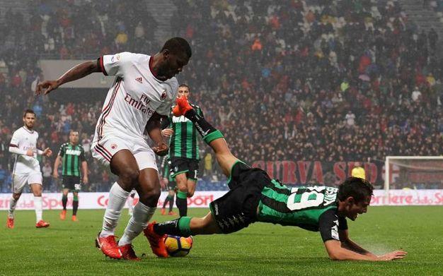 Sassuolo-Milan (La Presse)