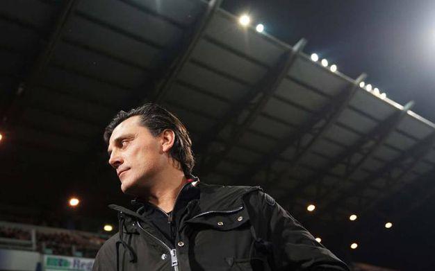 L'allenatore del Milan Vincenzo Montella (La Presse)