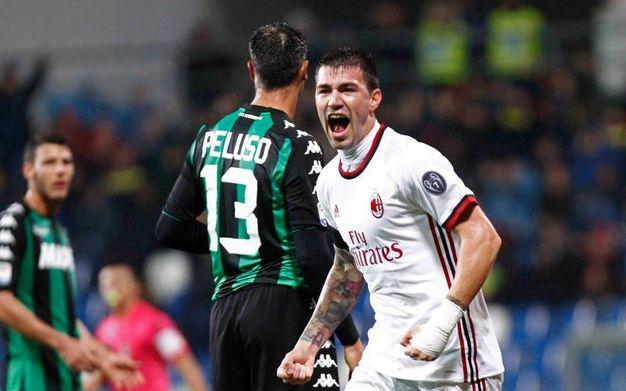 La rete dell'1-0 di Romagnoli (La Presse)
