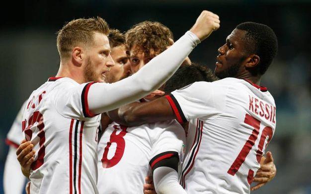 La rete del 2-0 del Milan (La Presse)