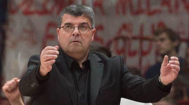 L'allenatore della Virtus, Alessandro Ramagli (foto LaPresse)