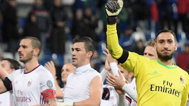 Il  Milan vincendo in casa del Sassuolo torna  a respirare: adesso ci sono  due settimane per preparare la trasferta  di Napoli. Anche Montella è soddisfatto della prova dei suoi
