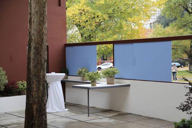 E' la riproduzione di quello ideato da Le Corbusier (foto Schicchi)