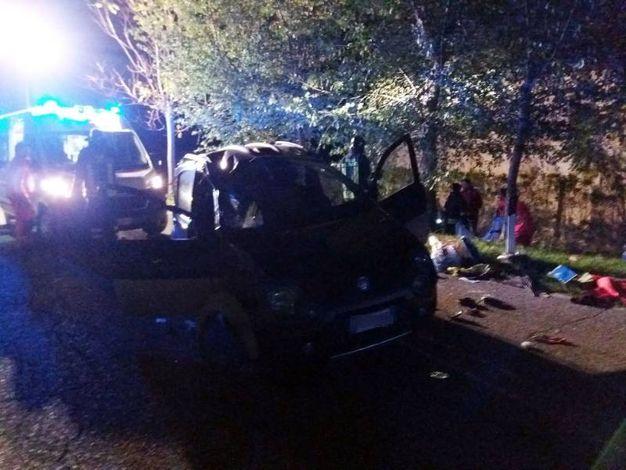 Il terribile incidente in cui ha perso la vita una ragazza di 16 anni (foto Carassai)