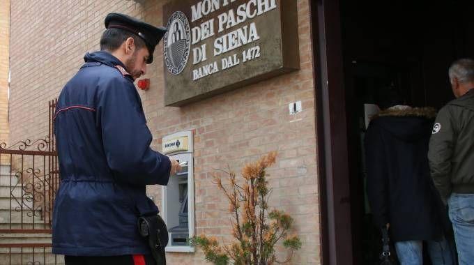 Rapina in banca a San Rocco a Pilli, Siena (Dipietro)