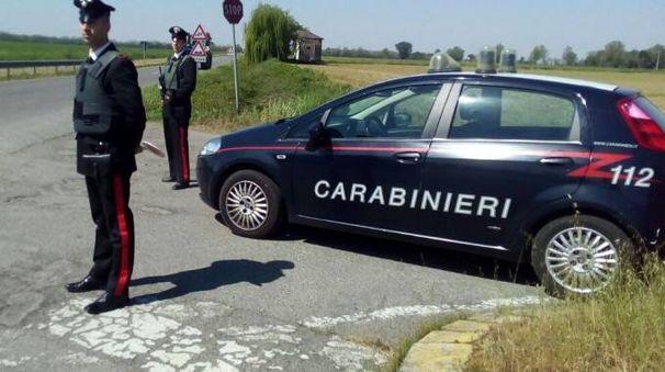 Una pattuglia dei carabinieri di Borghetto