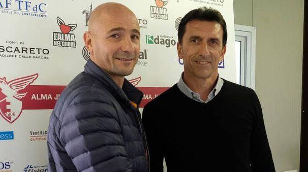 Oscar Brevi con Massimiliano Menegatti (fotoPrint)