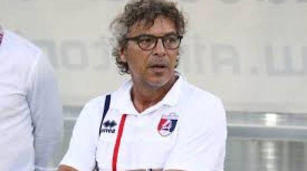 L'allenatore della Samb Francesco Moriero