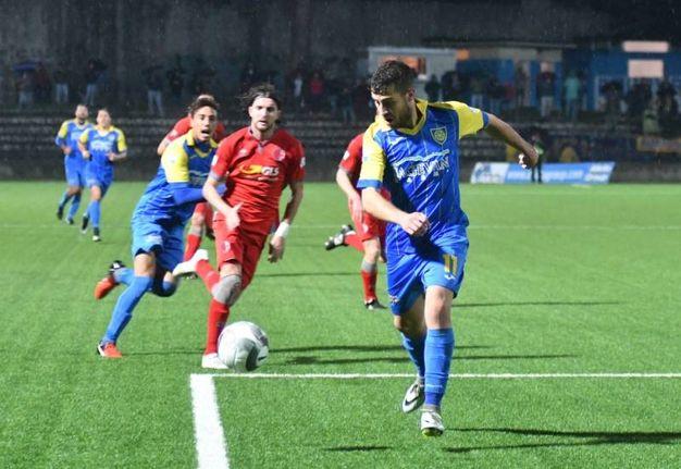 Carrarese-Alessandria, le foto della partita (Delia)