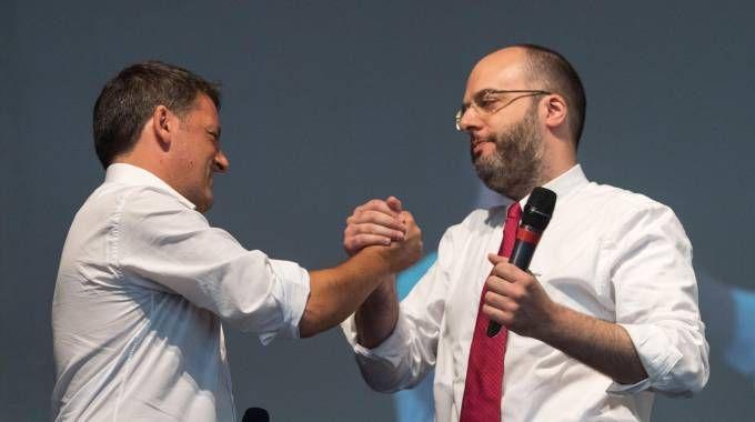 Matteo Renzi e Francesco Critelli