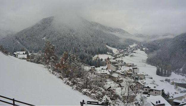 Cortina d'Ampezzo (Webcam/Ansa)
