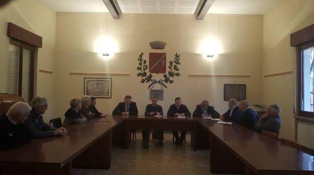 La delegazione di consiglieri regionali e parlamentari