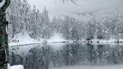 Prima neve al Lago Santo (Foto Vanoni)