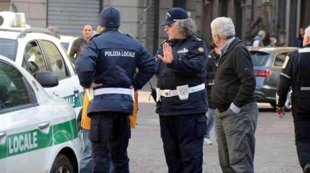 Agenti di Polizia locale al lavoro