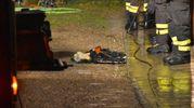 Dalle prime ricostruzioni, sembra che la pensionata stesse accendendo il fuoco con dell'alcol nella stufa a legna, quando è stata investita da una fiammata (Foto Artioli)