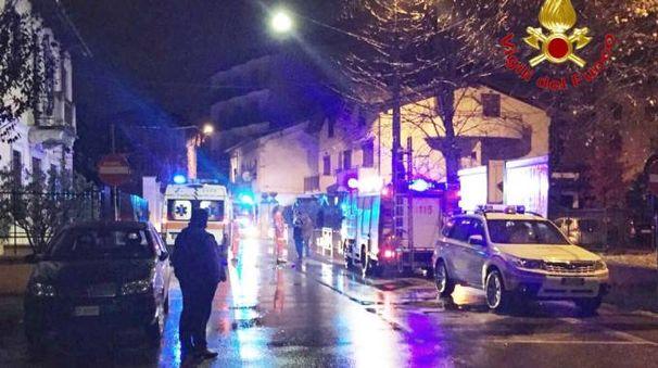 Esplosione in appartamento a Pogliano Milanese