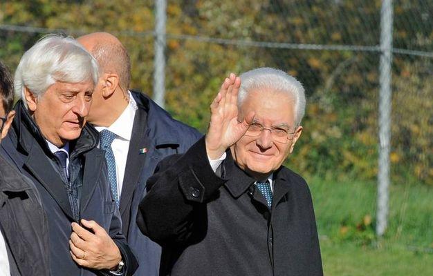 Il saluto del presidente (foto Calavita)