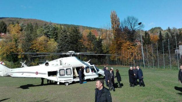 L'elicottero del presidente