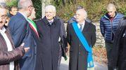 Il capo dello Stato con il presidente della Provincia
