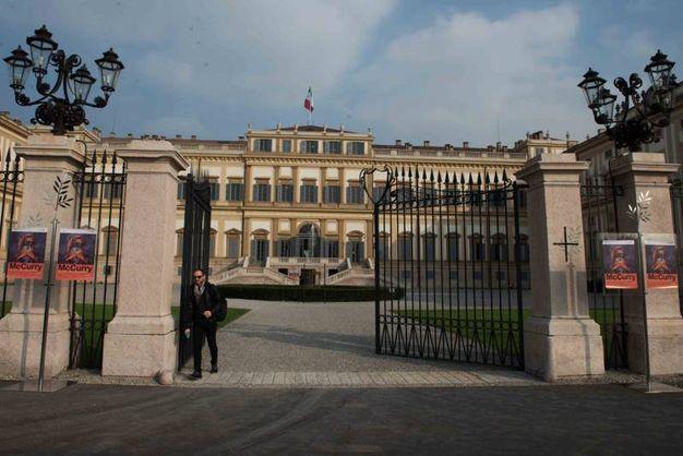 L'ingresso alla Villa Reale di Monza