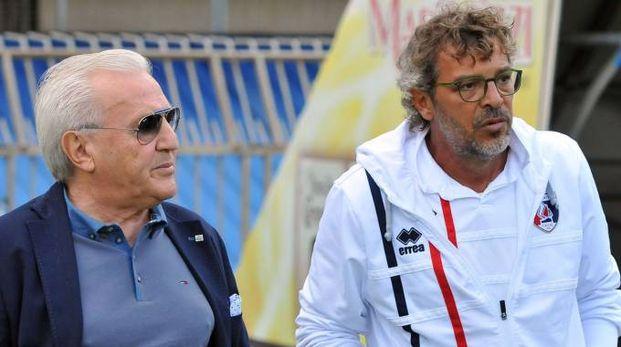 Francesco Moriero con il presidente Fedeli