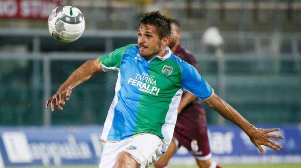 Il primo gol di Mattia Marchi con la Feralpi Salò non è servito a conquistare i tre punti