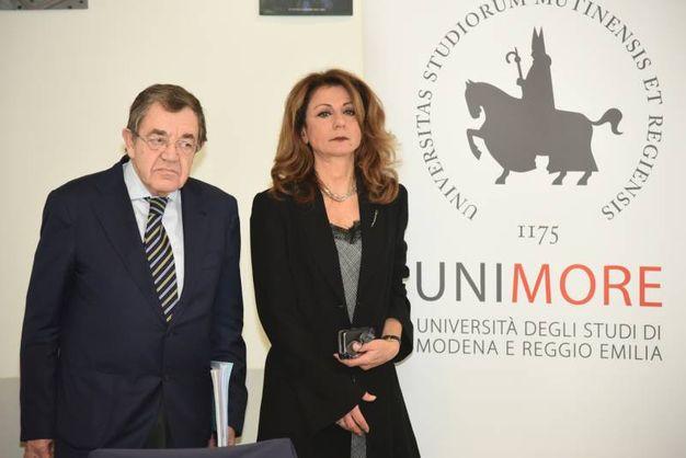 Paolo Chesi e Graziella Pellegrini (foto Fiocchi)