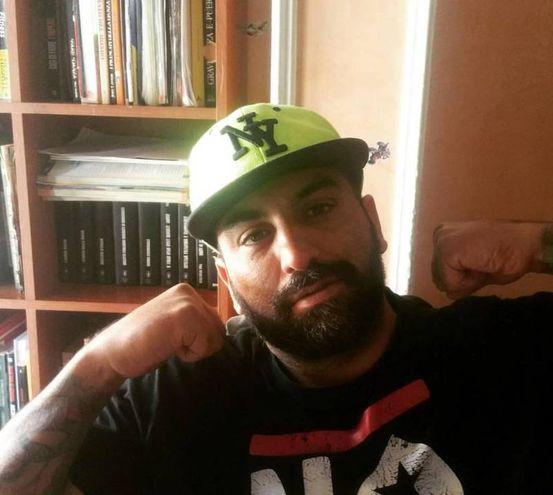 Una foto tratta dal profilo Facebook di Roberto Spada (Ansa)