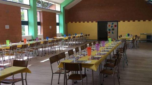 Mensa e cucina della scuola dell'infanzia Filippo Cecchi sono state aperte dopo i lavori un mese fa