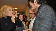 Alessio Boni con alcune fan (Foto Concolino)