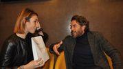 Alessio Boni alla presentazione del film La ragazza nella nebbia (Foto Concolino)