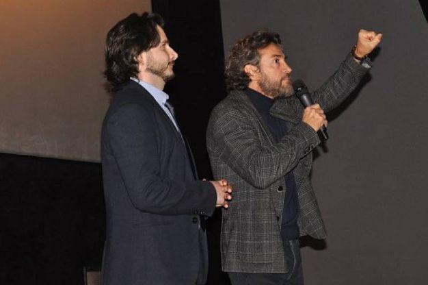 Alessio Boni presentazione del film La ragazza nella nebbia (Foto Concolino)