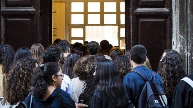 Liceo Virgilio a Roma (Ansa)