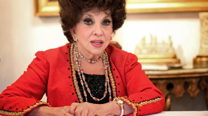 Gina Lollobrigida (Ansa)