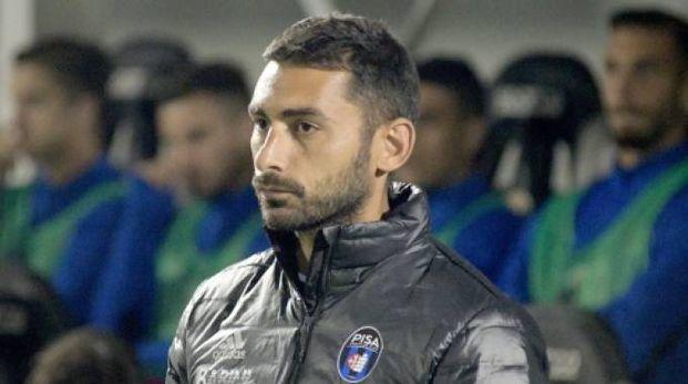 L'allenatore del Pisa Michele Pazienza