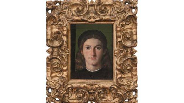 Lorenzo Lotto - Ritratto di giovane uomo