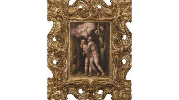Jacopo Carucci - Cacciata di Adamo ed Eva dal Paradiso terrestre