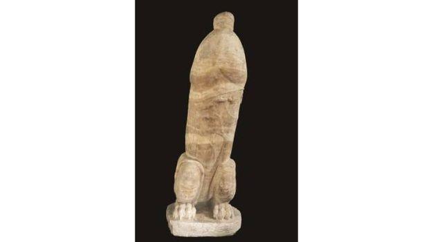 Arte romana - Fallo con zampe leonine