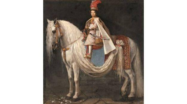 Giusto Suttermans - Leopoldo de' Medici bambino a cavallo