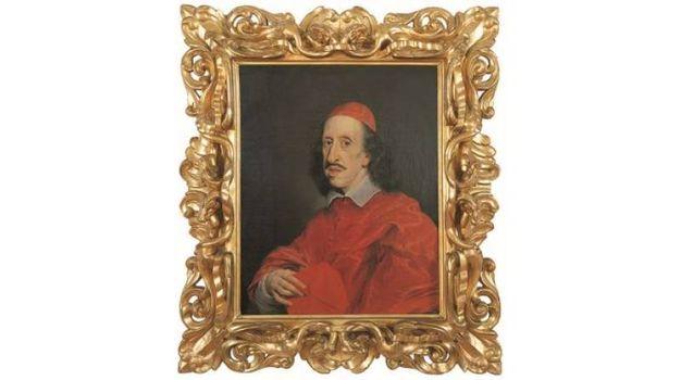 Giovan Battista Gaulli - Ritratto di Leopoldo de' Medici in abito cardinalizio