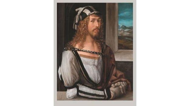 Anonimo della prima meta del XVII secolo - Autoritratto di Albrecht Durer